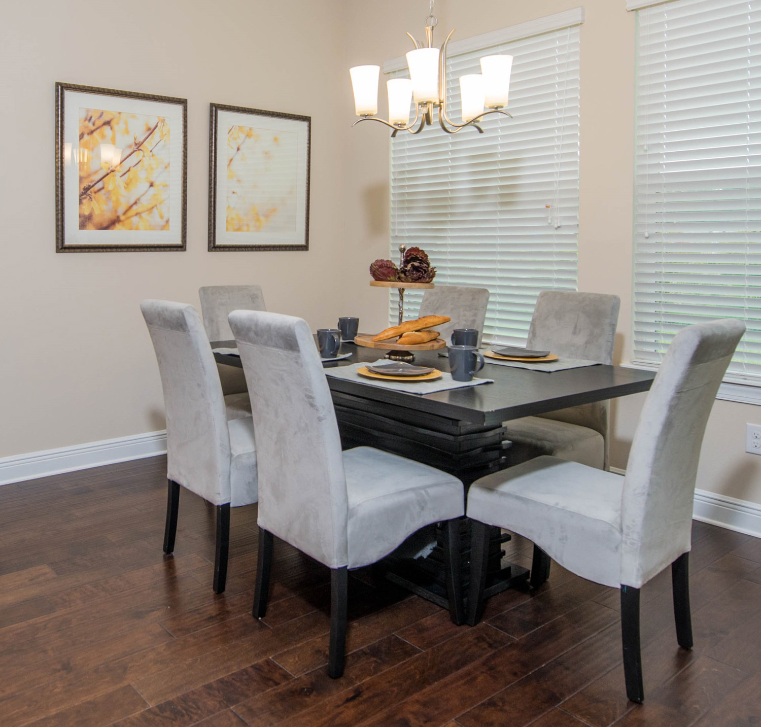 contemporary kitchen dining room created by tampa interior designer